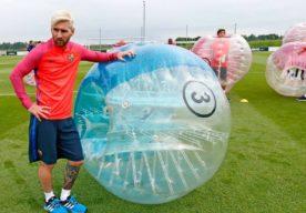 Messi Bubble Football